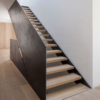 Beautiful Staircases In Homes/ Staircase Inside House/ Wood Tread Staircase  Design
