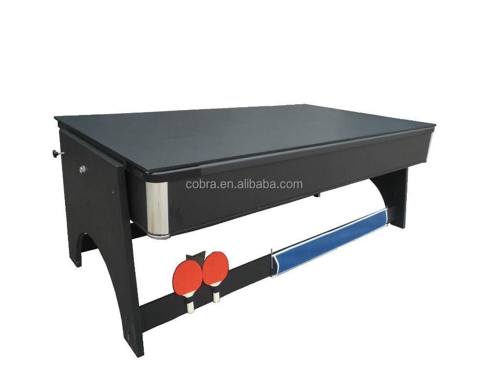 4 en 1 pliage table de billard table ping pong 7ft pliable table de billard et table de. Black Bedroom Furniture Sets. Home Design Ideas