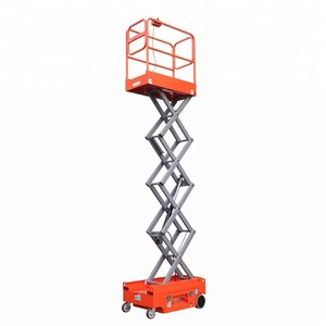 SJZ self propelled small mini 240kg 3m aerial work platform Skyjack Scissor Lift