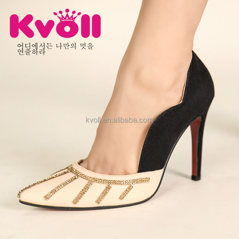2014 lady shoe with high heel