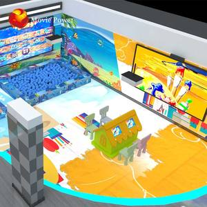 Unified Design Vr Funland Indoor Playground Equipment For Game Center Kids Indoor Playground