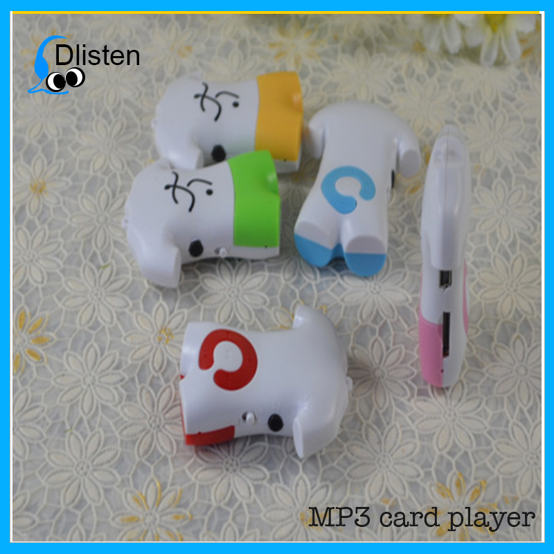 Best selling Shirt cartoon mp3 music player with the lowest price
