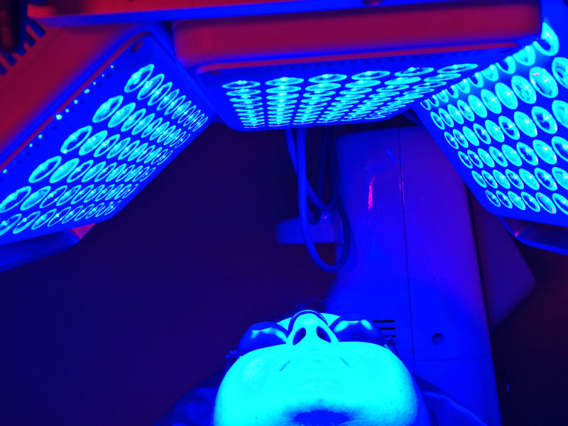 blue light machine