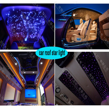 12v car interior roof top decorative star ceiling led fiber optic