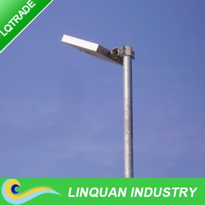 12W integrated solar street light ,LED Lamp with sensor