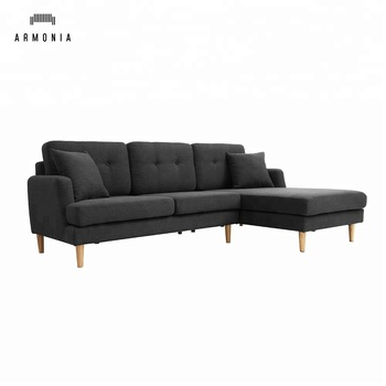 L Shape Latest Design Modern Corner Sofa - Buy Latest Sofa Design ...