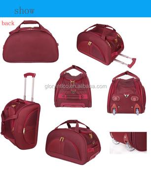 c78b2f3b7a Eva 4pcs set Duffle Bag Trolley Duffle Bag - Buy Trendy Duffle Bags ...