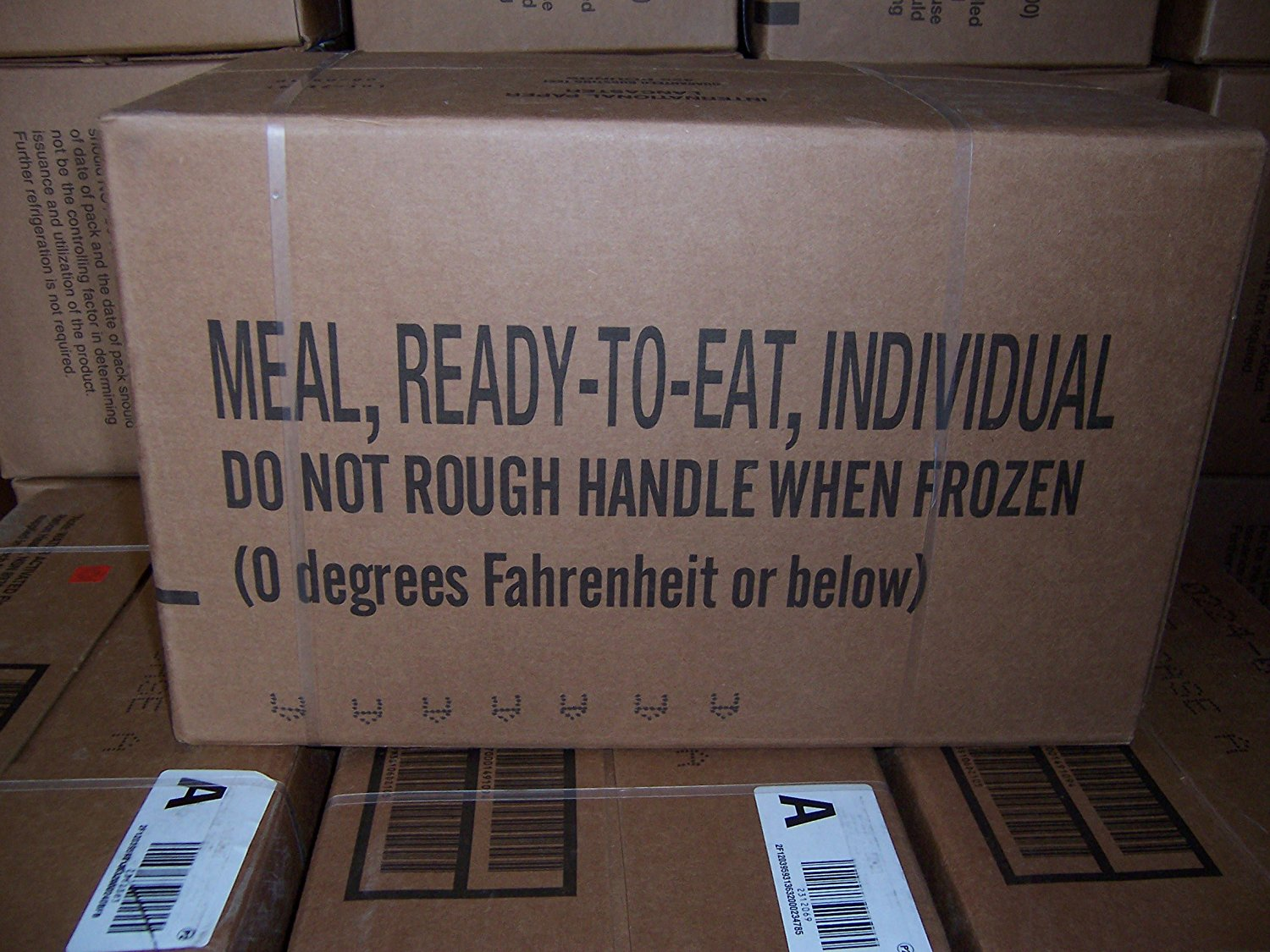 MRE MEALS MILITARY Case A READY TO EAT INSP 11/2017 Fresh! meals 1-12 FACTORY SEALED