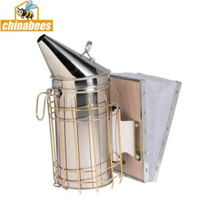 Factory supplier Stainless steel beekeeping smoker for bee hive beekeeper tool