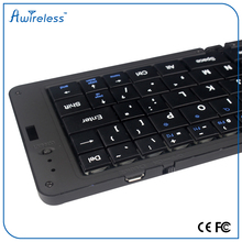 2016 Hot Selling Folding Wireless Bluetooth Keyboard for mobile phone and tablet computer