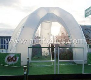 high quality low price transparent inflatable tent/inflatable clear spider tent