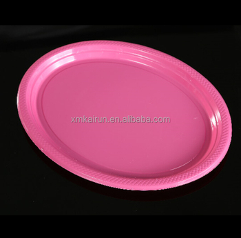 Disposable Oval Plastic Plates/wholesale Disposable Plates ...