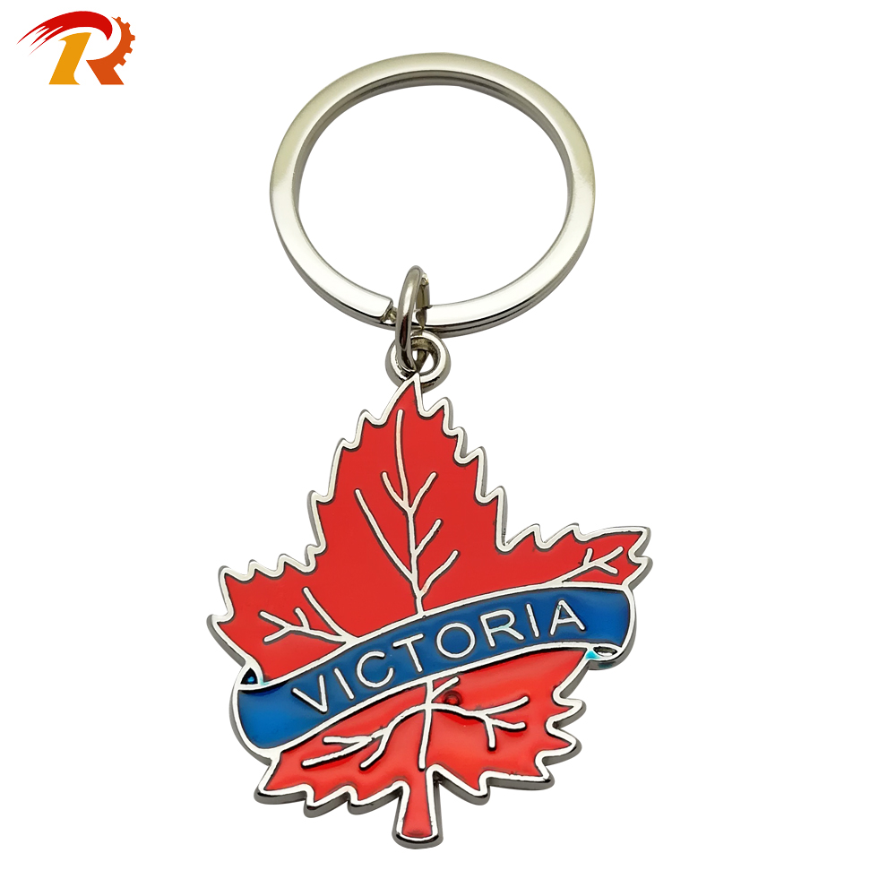 Country Tourist Souvenir Metal Alloy Epoxy Design Fridge Magnet
