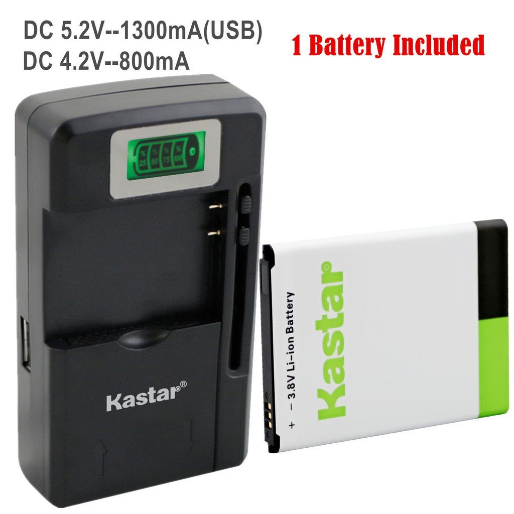 Kastar Galaxy NOTE2 Battery (1-Pack) and intelligent mini travel Charger ( with high speed portable USB charge function) for Samsung Galaxy Note 2, NOTE II, GT-N7100, SCH-I605(Verizon), SCH-R950(U.S. Cellular), SGH-I317(AT&T), SGH-T889(T-Mobile), SPH-L900(Sprint), AT&T, T-Mobile, Sprint, Verizon