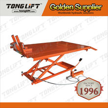 High Quality Used Air Hydraulic Motorcycle scissor Lift Table