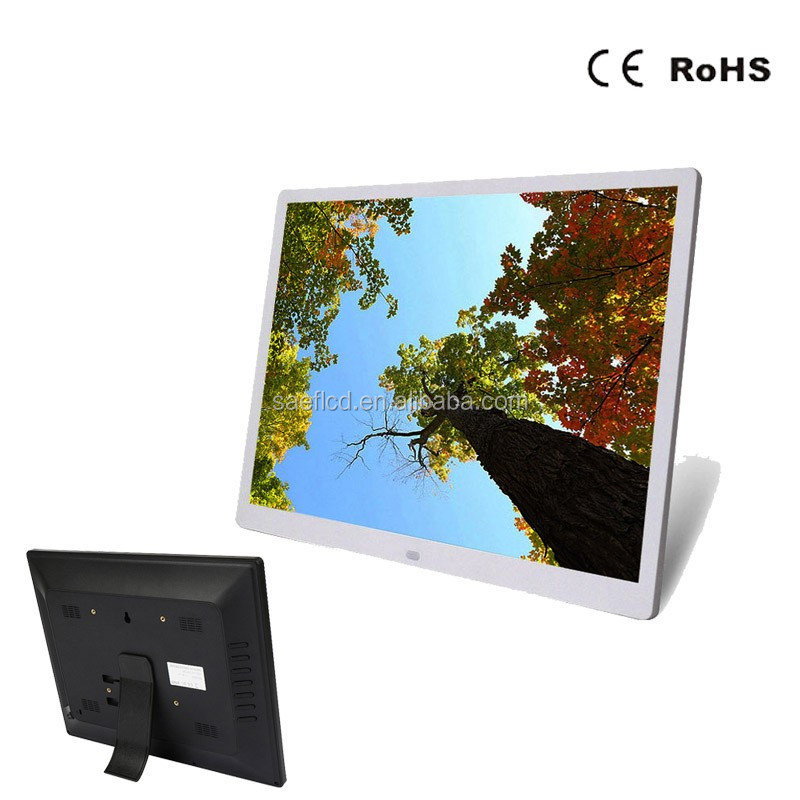 15 Inch Picture Digital Frame Big Size Frame With Digital Photo ...