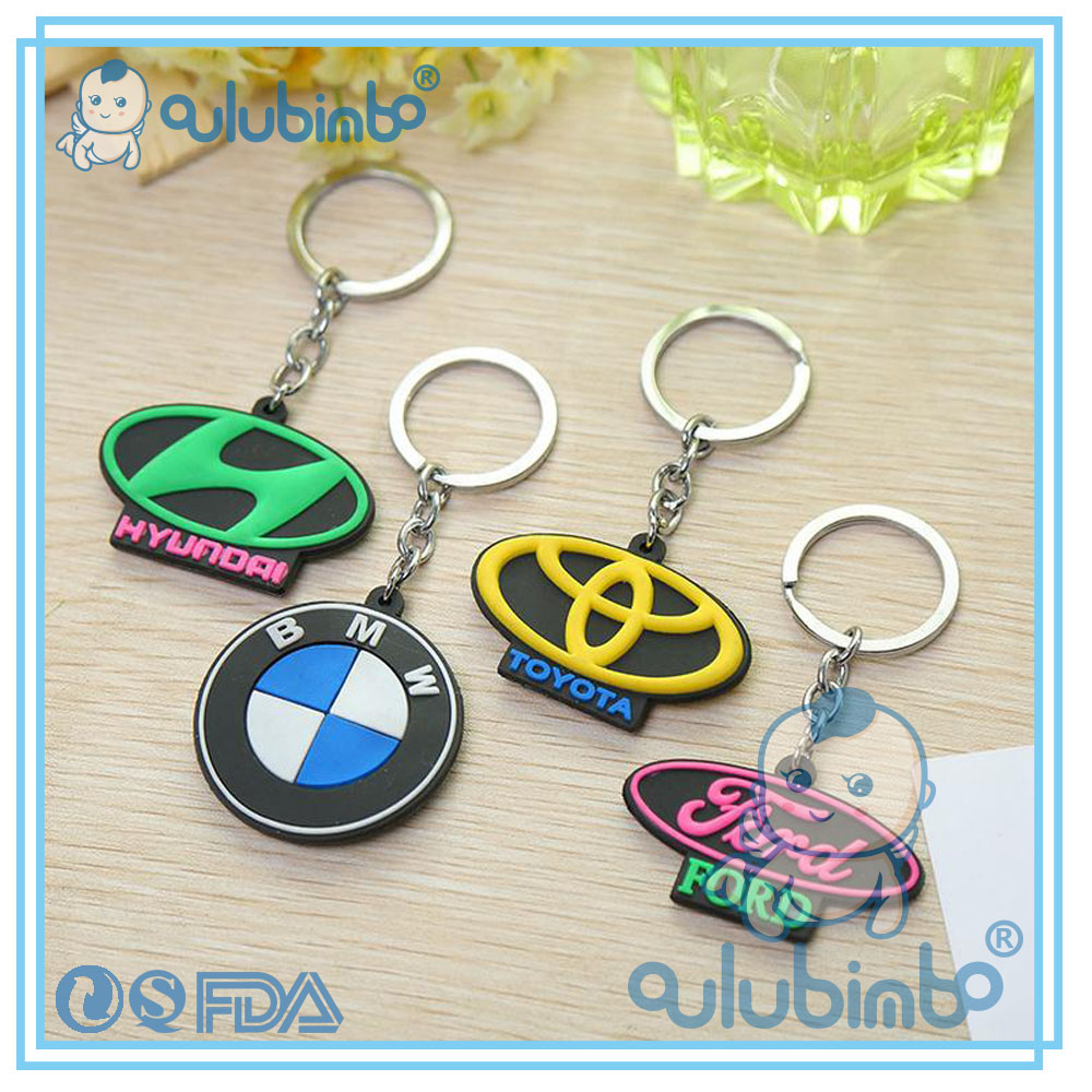 cheap items to sell and Auto Logos of Silicone Key ring