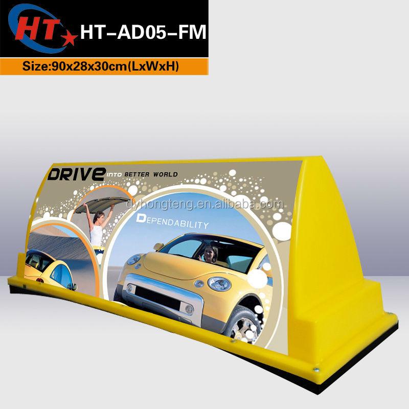 Universal Led Bulb Car Advertising Taxi Led Top Light Advert Boxes ...