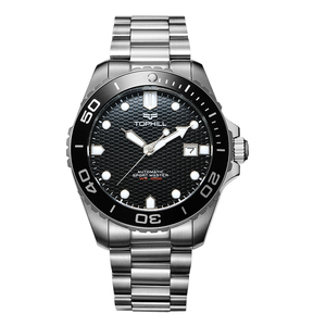 10 atm Water Resistant Stainless Steel Automatic Diver/Dive Mechanical Watch