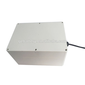 12v 60Ah ABS case solar system storage lithium iron phosphate battery pack