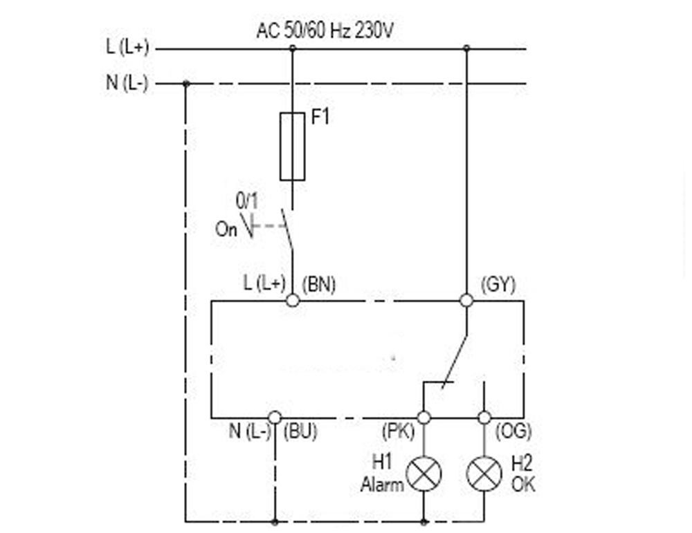 Rw olc d1 optical level switchsensorbitzer part no34794901 the electrical connection needs to be carried out according to the wiring diagram after refilling the container check the seal cheapraybanclubmaster Choice Image