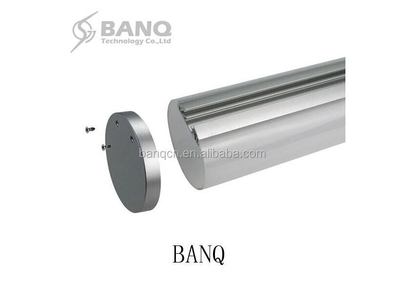 Banq Hot Sales Ce Rohs 6060 Led Aluminum Profile Half Round