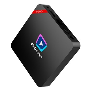 IPHD Super S900 magic tv box iptv streamer with 1 year iptv subscription  free streaming sports channels,movies channels,music