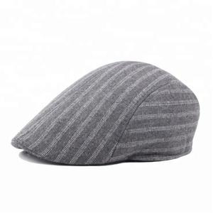 ed73136c2b257 High Quality Men s Winter Beret Hat and Custom Newsboy Cap