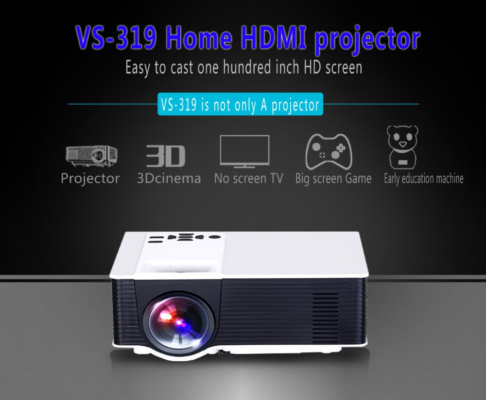 VS319 FULL HD 1080P 1500lumens led home theater projector with wifi & Android&bluetooth