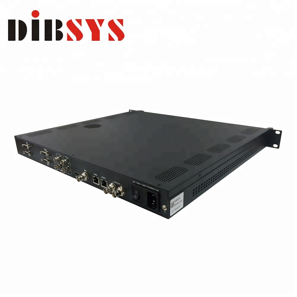 Mpts oltre udp multicast encoder AES con 1 * HD-MI/HD-SDI/YPbPr/ingressi video Composito