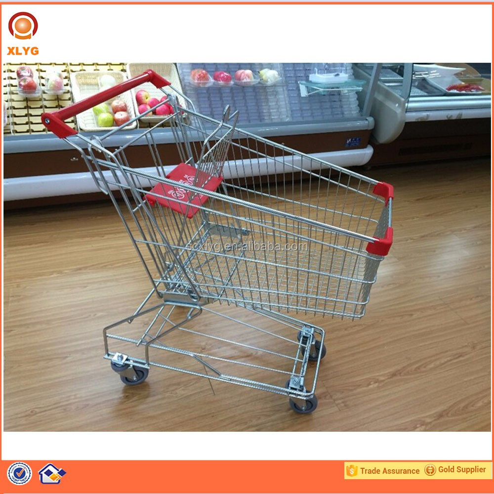 Lightweight Shopping Trolley With Seat,Supermarket Shopping Trolley Bag,Folding Shopping Cart