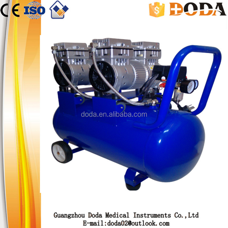 electric/gasoline/diesel protable piston type direct /silent air compressor