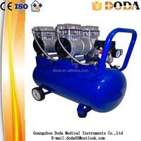 electric/gasoline/diesel protable piston type direct /silent air compressor