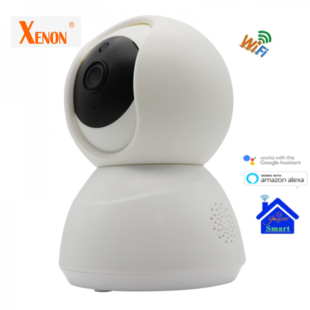 Xenon Smart Home Hot Sale Wifi Smart Home P/t Ip Camera Works With Alexa -  Buy Smart Wifi Camera,Mini Ip Wifi Camera,Mini Ip Wifi Camera Indoor