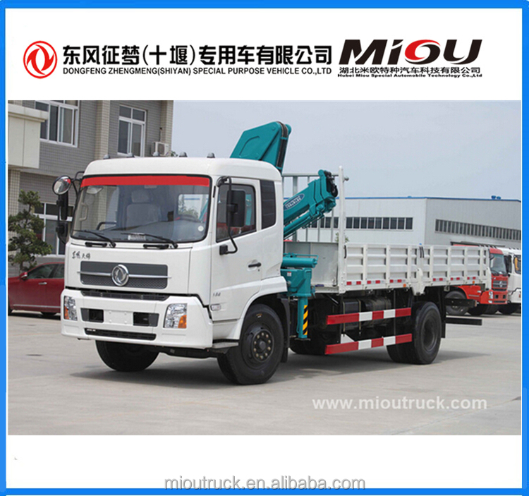 Top quality Dongfeng new truck mounted crane