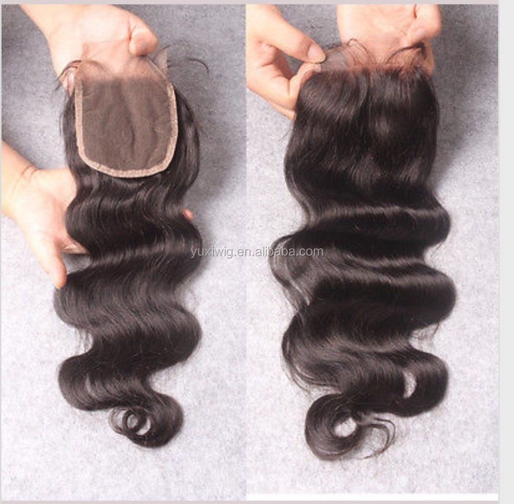 cheap brazilian natural light brown hair bundles with lace closure
