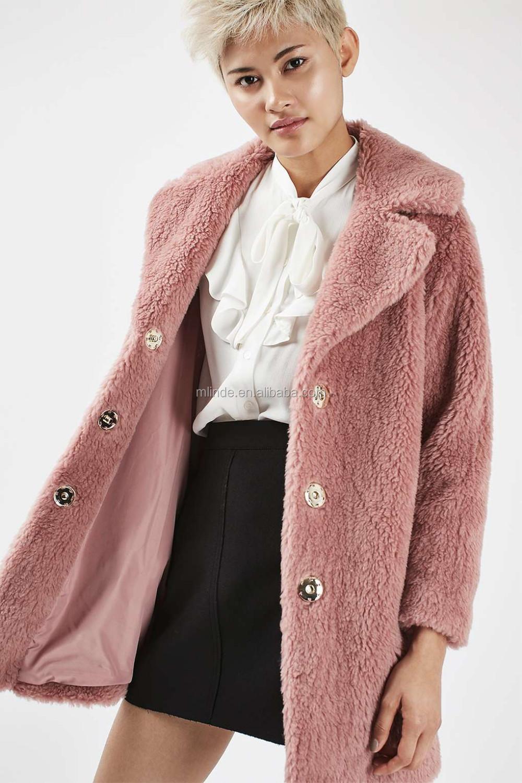 Nouvelle Conception De Mode D'hiver Femmes Manteau De