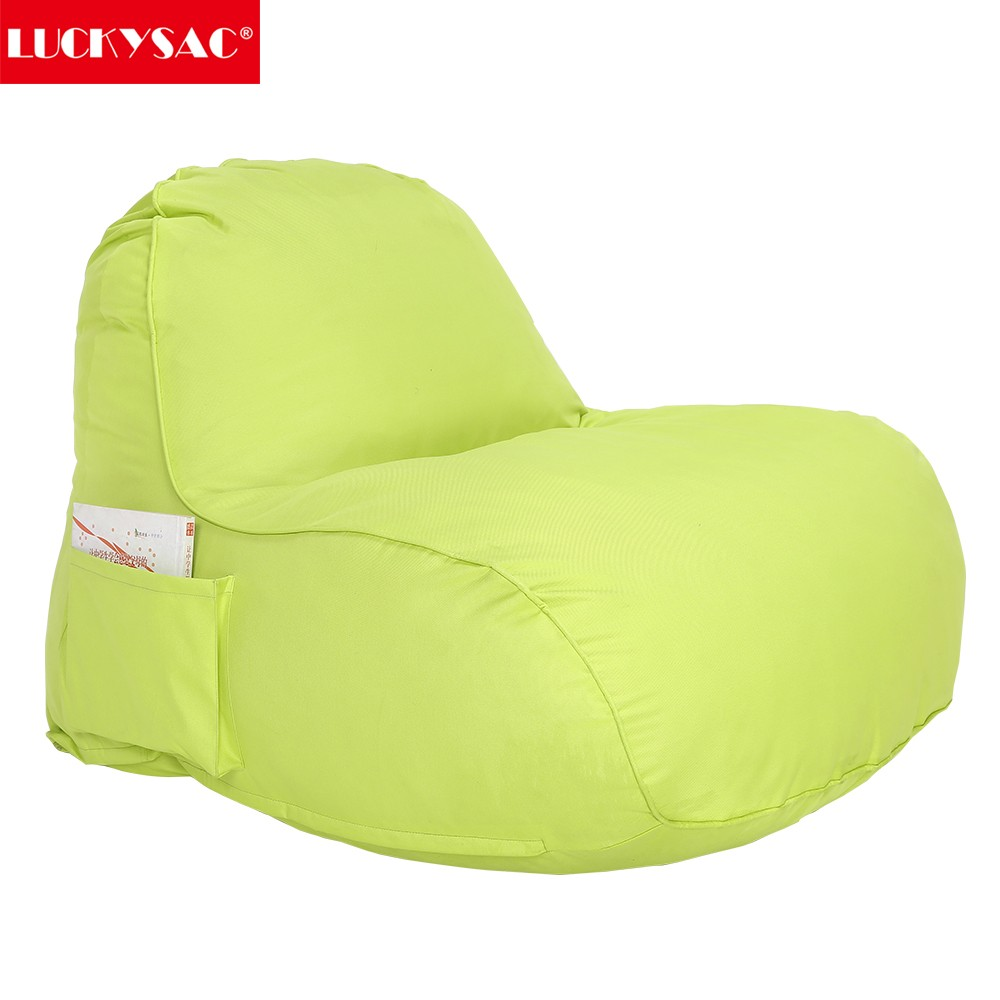 Fire Resistant / Fire Retardant Bean Bag Chair With Chair Ottoman