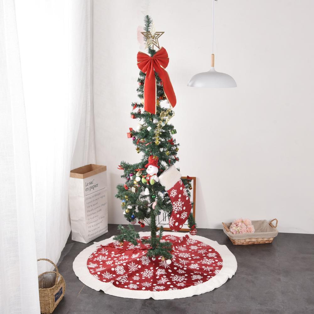 далеко всегда елка только в красном декоре фото придётся тратить