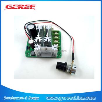 Dc 6v 12v 24v 48v 90v 10a Motor Speed Control Dc Motor