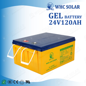24V 100Ah - 200Ah Deep Cycle Solar Gel Battery 120Ah 24V Battery