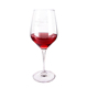 W603 Top Quality Customized Available Crackle Wine Glass