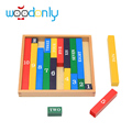 Educational wooden toys Colorful Counting Sticks Kids Toys Children Kids Toys Math School Teaching Aid Learning