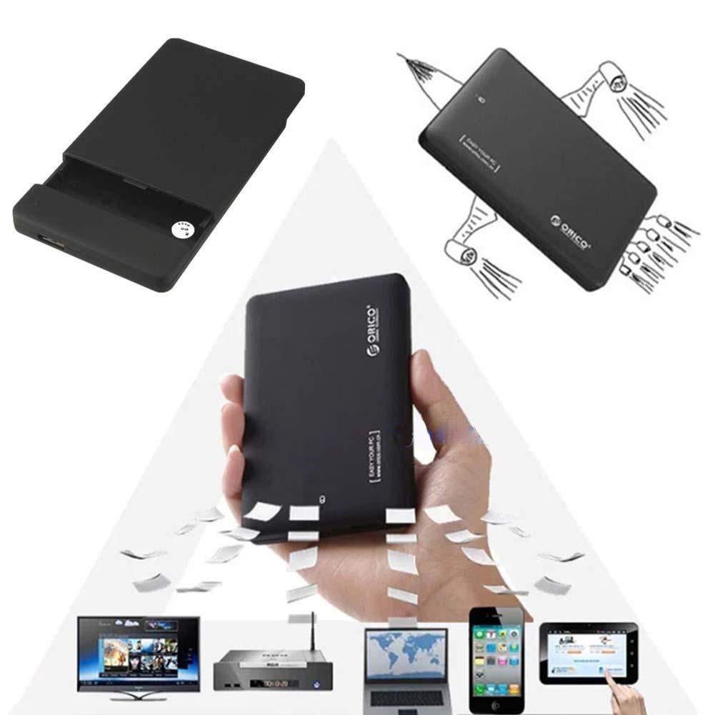 "Simply Silver - HDD Hard Drive - ORICO 2599US3 USB3.0 SATA External 2.5"" HDD Hard Drive Enclosure Disk Case Box"