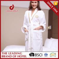 Wholesale 100% Cotton Luxury Hotel Bathrobe