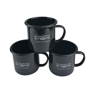 Class blank coffee cups with custom logo unbreakable for sublimation tea enamel mug