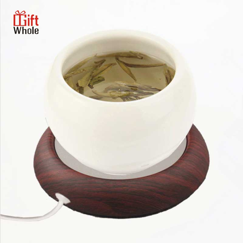 Electric heating coffee milk tea cup USB warmer cup