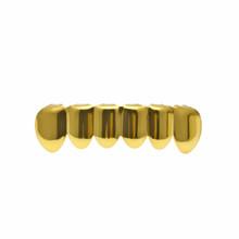 Мужские золотые зубные грили BOAKO, в стиле хип-хоп, с зубами и зубами, в стиле панк, украшения для зубов, для вечеринки в Дубае, B5(Китай)