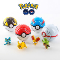 China So Cheapest Price Big Promotion Newest pokemon ball flexible pop-up poke ball toy