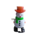 Christmas Decoration Moving Toy Wind Up Plastic Snowman Toys